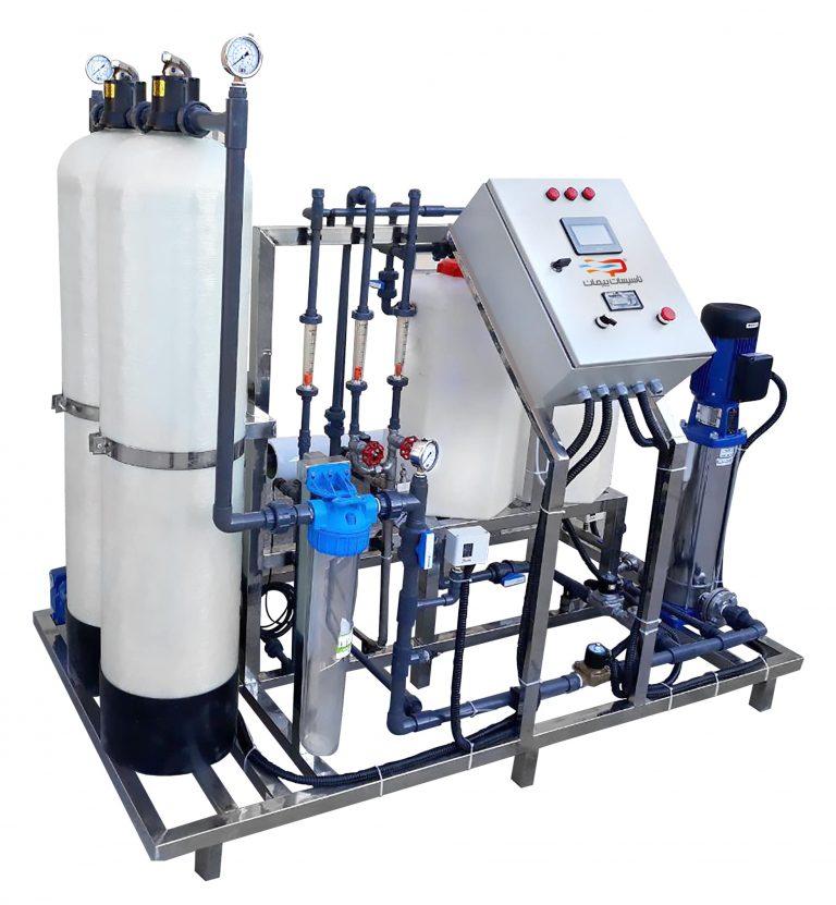 دستگاه تصفیه آب RO صنعتی 600 مترمکعب در شبانه روز