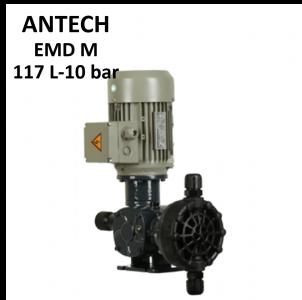 پمپ تزریق موتوردار آنتک 117 لیتر 10 بار EMD M